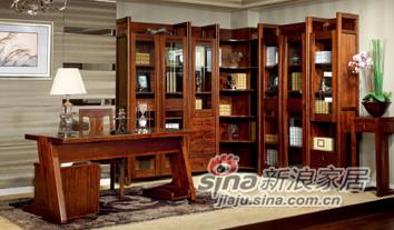 星巴克BX01-8组合书柜BX01-7办公桌-0