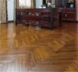 安信非洲花梨(刺猬紫檀)人字拼实木地板