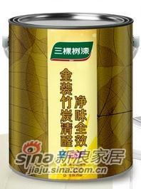 三棵树金装竹炭清醛净味-0