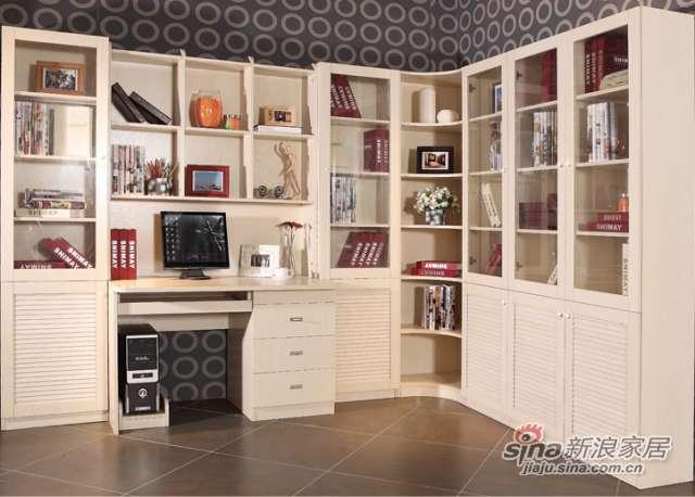 白橡书柜-0