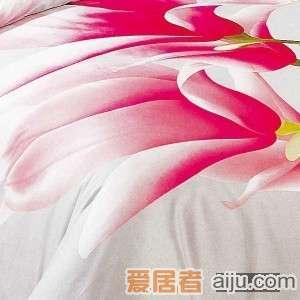 家元素床上用品花开奇缘四件套(纯棉)HD12000012