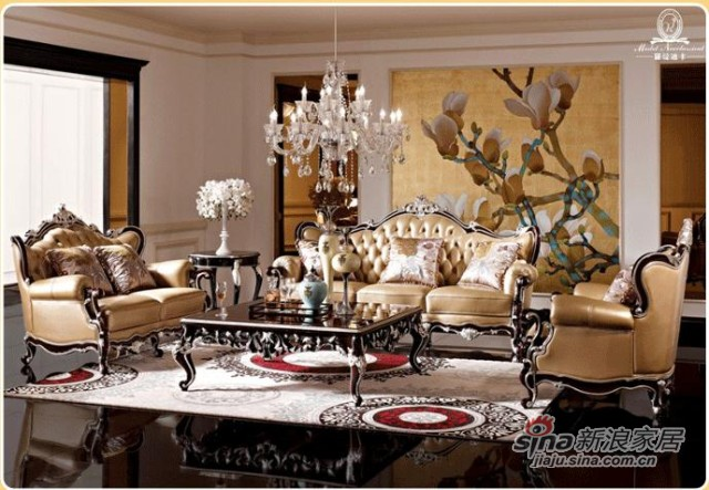 罗曼迪卡新古典沙发