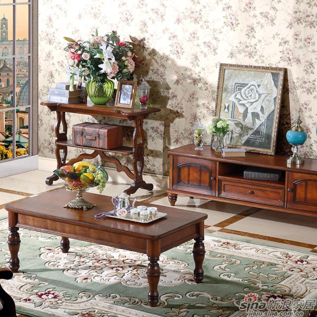巨森家居小美系列101#茶几+电视柜