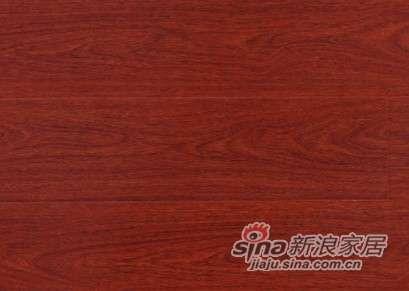 大卫地板中国红-晶彩系列强化地板DWPT0066温馨红檀-0