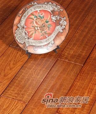 【永吉地板】实木仿古塞尚系列——橡木曼哈顿之城