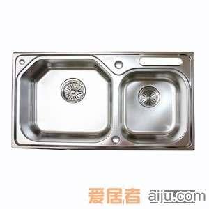 GORLDE优质不锈钢水槽/洗菜池 巴赫系列BH02(大小盆)2