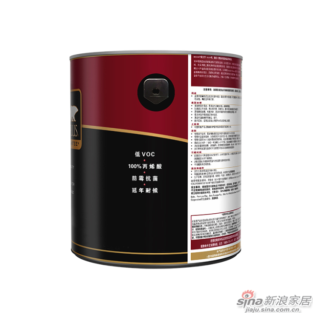 百色熊超级室外哑光涂料 1加仑-3