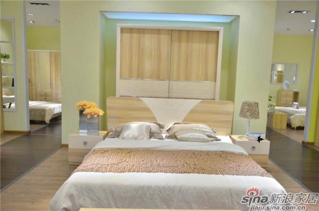 印象米兰升级系列-5-Q26010床+衣柜