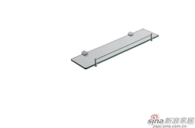 SM3106Y单层玻璃置物架