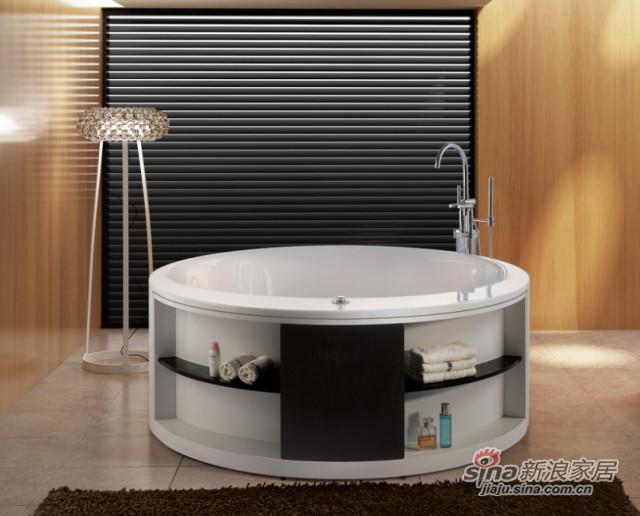 置物一体浴缸-0