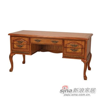 艾芙迪 书房家具 书桌 学习桌 原木色 ACL50B-835SN