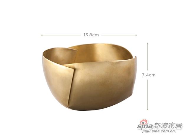 Tao家居摆设铜碗摆件-1
