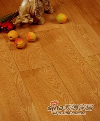宏鹏地板金铂面防潮实木系列―栎木WFT-12-01A-0