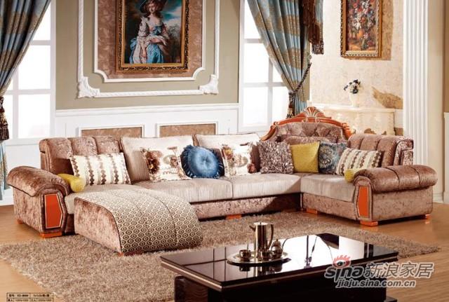 宝莱佳沙发欧式-0