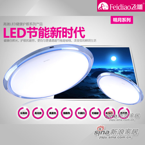 飞雕LED吸顶灯
