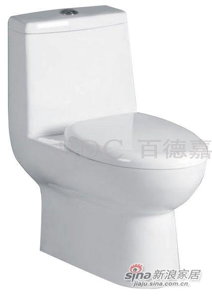 百德嘉陶瓷件连体座便器-H3311293-0