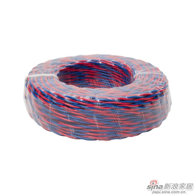 联塑聚氯乙烯绝缘绞型连接用软电线-0