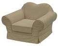 格兰诺贝布尔图系列GN07S1032A1单人沙发