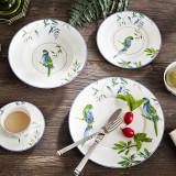 鹦鹉骨瓷餐具