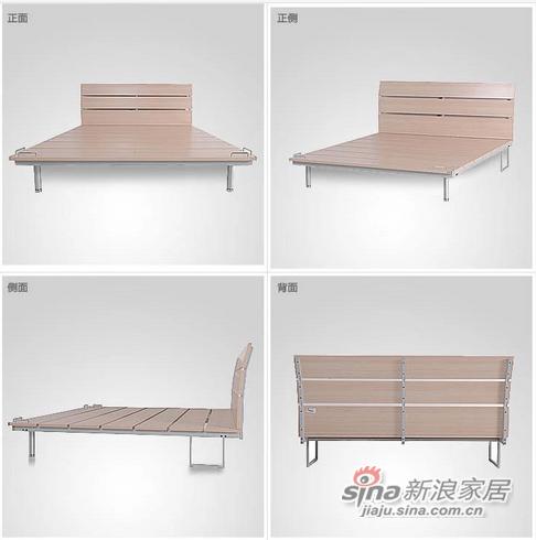 红苹果板式钢架床-1