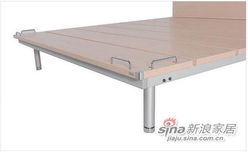 红苹果板式钢架床-3