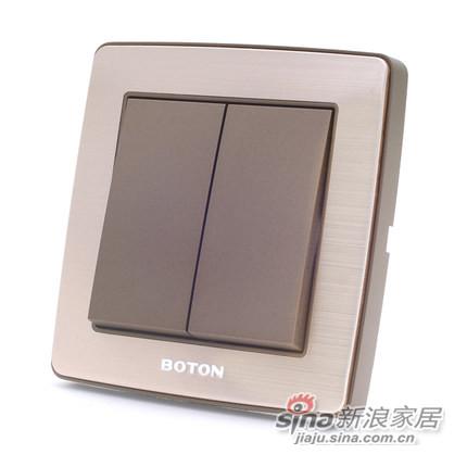 博顿开关插座面板 G6系列