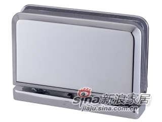 雅洁AG5510C-31(新)360-玻璃门铰-铬-0