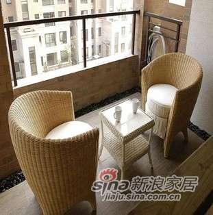 凰家御器藤椅藤家具三件套休闲椅阳台椅NH-A038