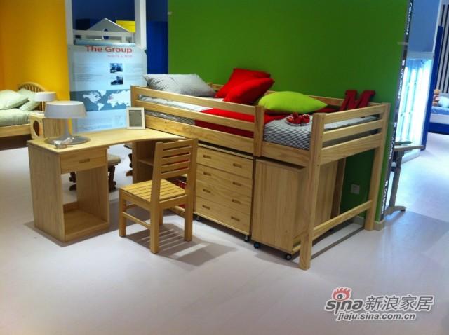 哥伦比尼儿童家具凯特系列多功能床-1