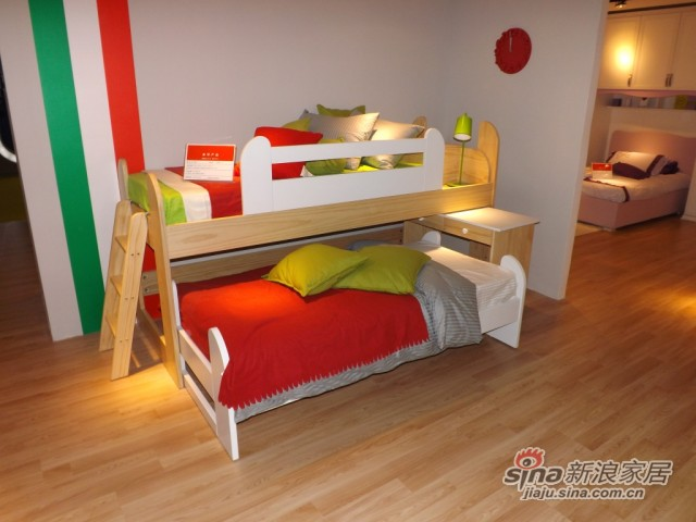 哥伦比尼儿童家具凯特系列多功能床-2