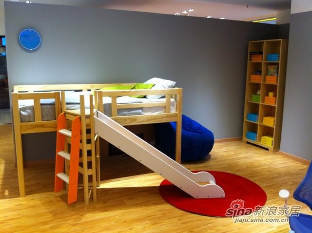 哥伦比尼儿童家具凯特系列多功能床-4