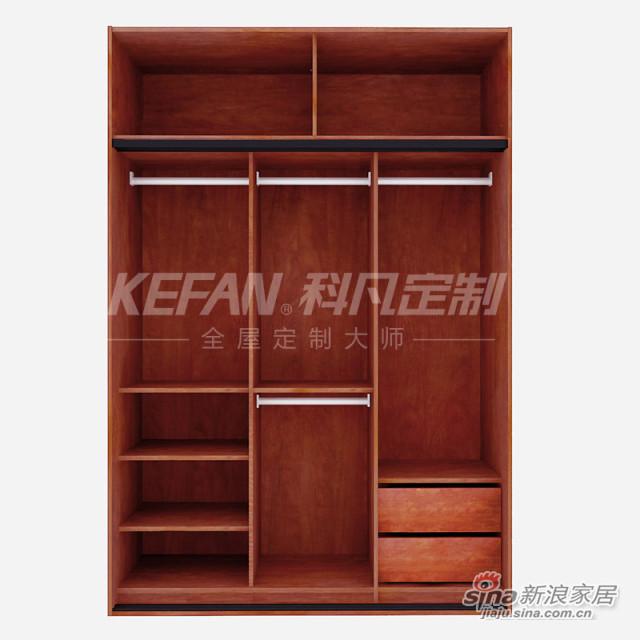 科凡中式整体卧室木质衣柜CY01-1