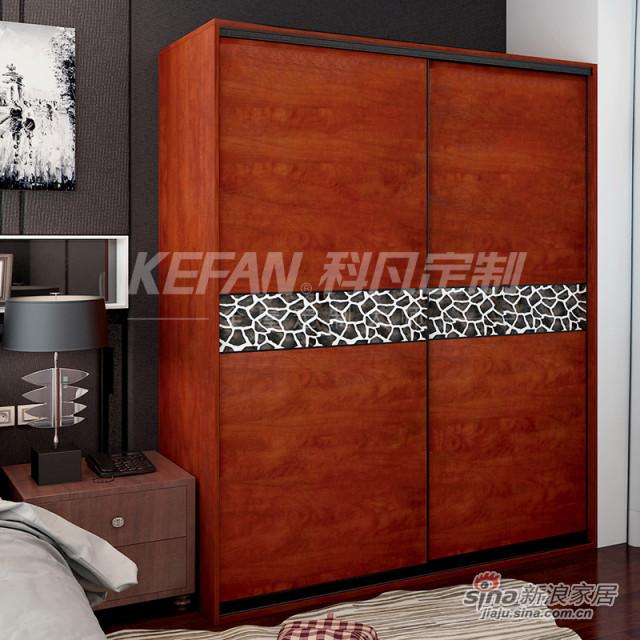 科凡中式整体卧室木质衣柜CY01-3