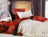 博洋家纺进口长绒棉印花床单四件套--伊卡露斯