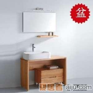 法恩莎实木浴室柜FP4628盆(605*405*140mm)1