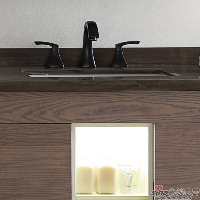 阿洛尼浴室柜-雅致A1923组合柜-4