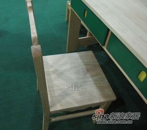爱心城堡Y041-CR1-NR小方椅 -0