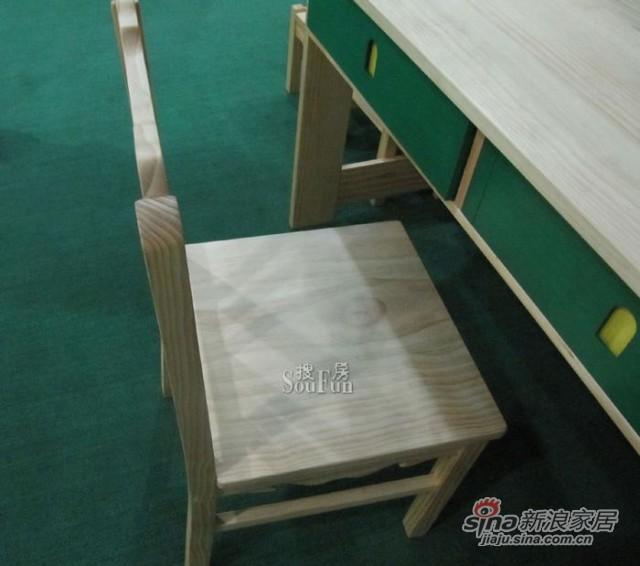 爱心城堡Y041-CR1-NR小方椅 -1