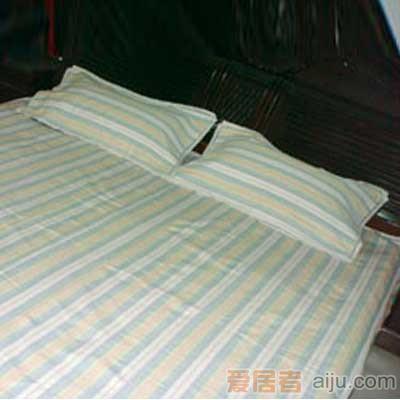 家元素老粗布布席-粗布蓝纯棉-200*300CM1