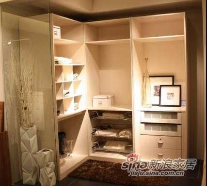 耐特利尔家具自然空间;麦白色衣帽间-0