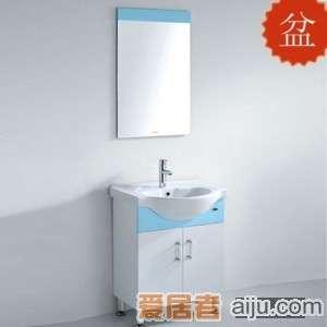 法恩莎PVC浴室柜FP3674盆(660*495*210mm)1