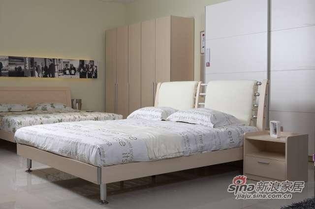 东方百盛-B699双人床-0