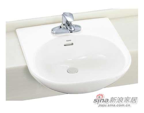 TOTO台上式洗脸盆LW830CFB-0