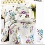 明超雅薇家纺自然之美钻石棉系列大提花印花四件套