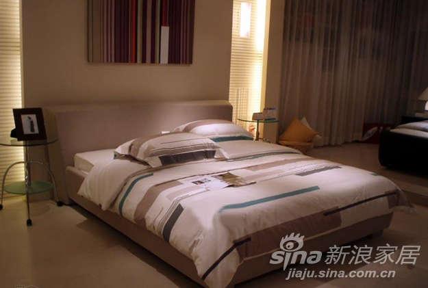圆方园卧室家具8620-E混纺布艺全面布艺套床-0