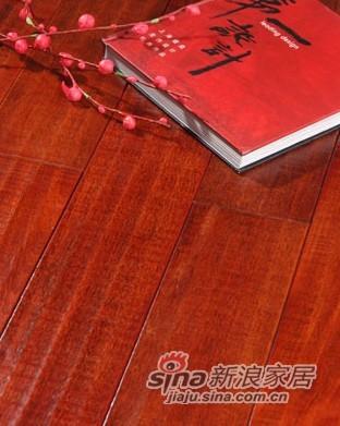 【永吉地板】实木仿古塞尚系列——龙凤檀苏黎世倩影