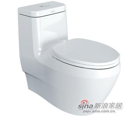 怡尚3/4.5升超强节水型连体座厕(底排305mm)