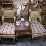 凰家御器藤椅藤家具三件套休闲椅阳台椅NH-A050