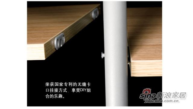 猫王家具钢木床-2