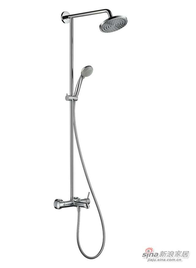 汉斯格雅180舒适型单把手浴缸龙头27211000